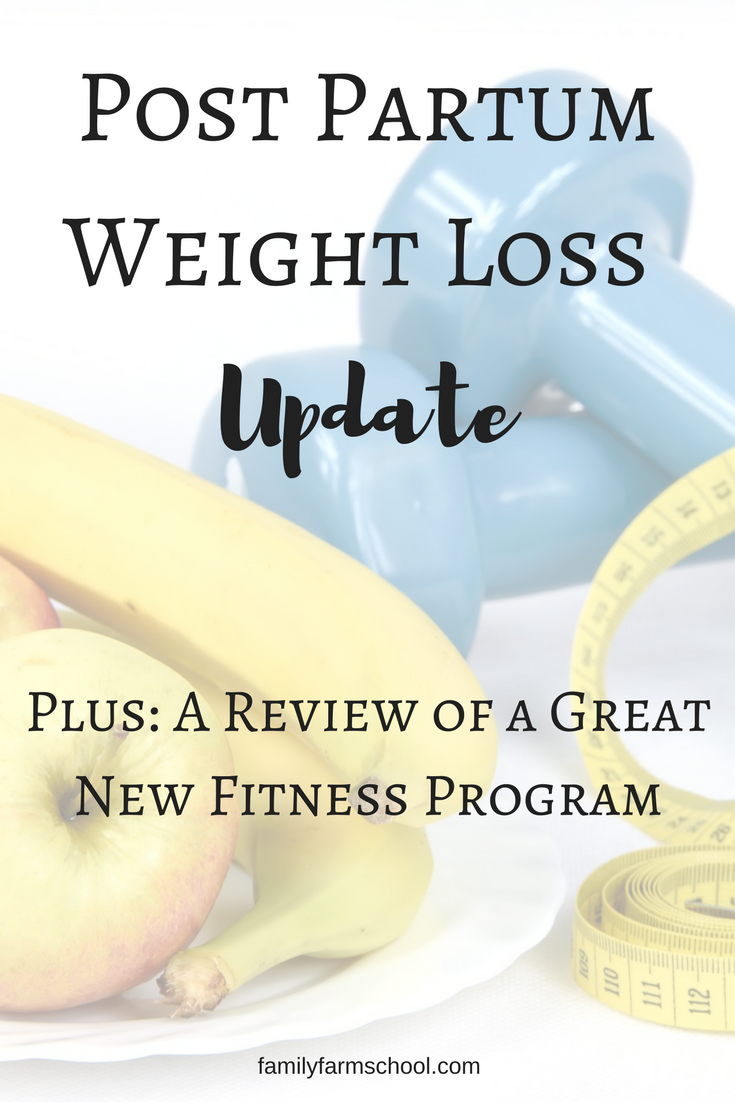 Post Partum Weight Loss Update: Fitness Program