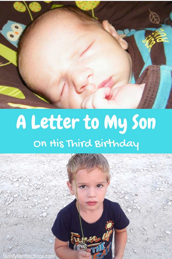 A Letter to Rhino...A Letter to my son