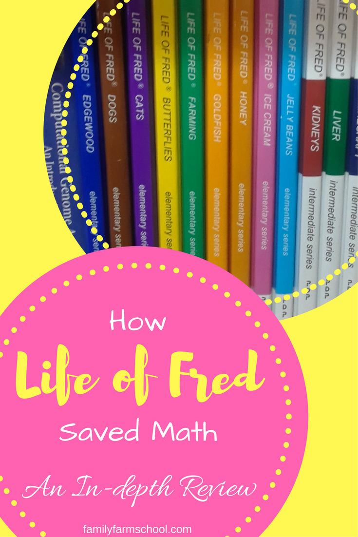 How Life of Fred Saved Math: An In-depth Review